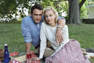 Sarah Gadon as Sadie Dunhill and James Franco in 11.22.63
