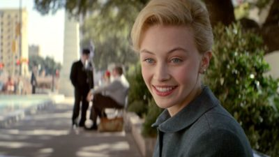 Sarah Gadon as Sadie Dunhill hairstyle in 11.22.63