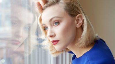 Sarah Gadon makeup in close u