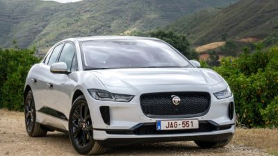 White Jaguar i Pace 2018