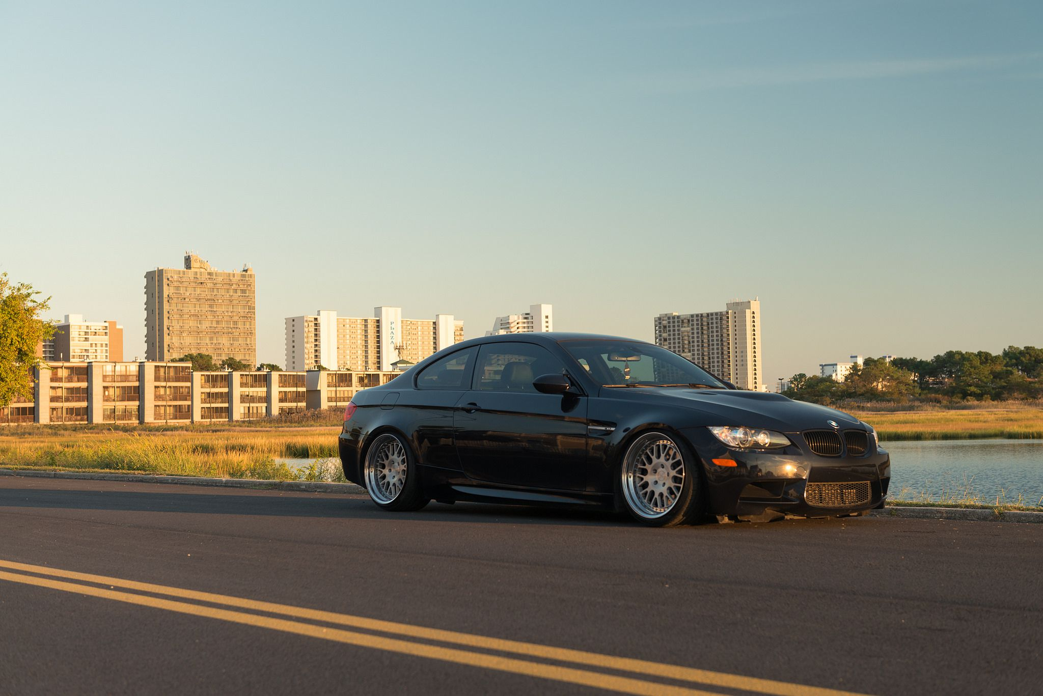 Rotiform LVS wheels - black BMW M3 coupe in high resolution