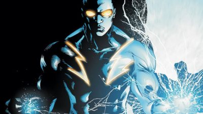 black lightning art