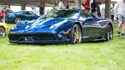 blue Speciale 458