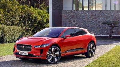 Red 2018 Jaguar i Pace