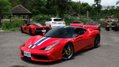 red super sport car - Ferrari Speciale 458 03