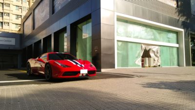 red super sport car - Ferrari Speciale 458 05
