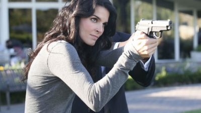 strong Angie Harmon