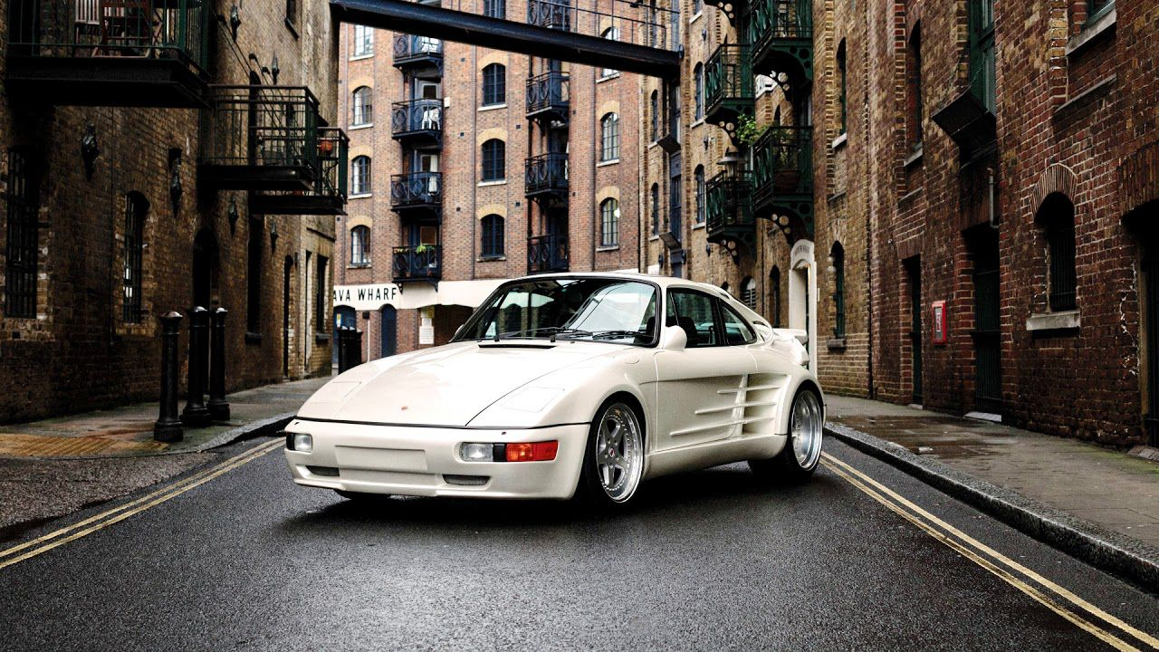 Old town - white Gemballa 930 Avalanche