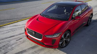 red Jaguar I-Pace