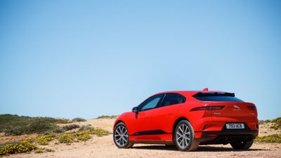 red Jaguar I-Pace HD