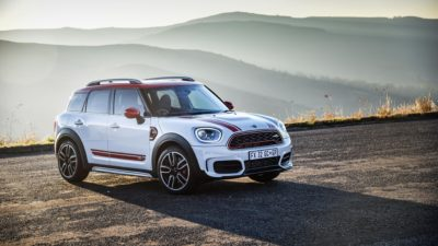 2018 white MINI John Cooper Countryman
