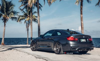 BMW M4 F82 coupe black