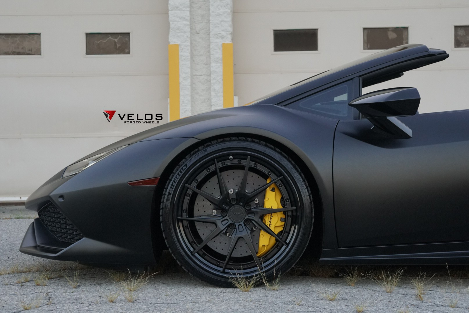 Lamborghini Huracán LP 610 4 Spyder on Velos wheels 3pc Float