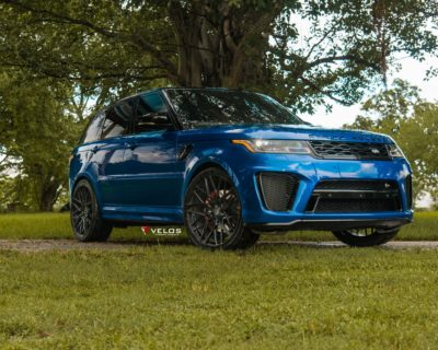 Range Rover SVR front view