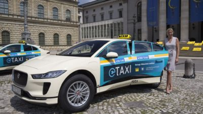 Electric TAXI Jaguar I-Pace
