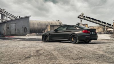 BMW M4 F82 side view
