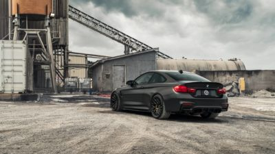 BMW M4 F82 rear bumper