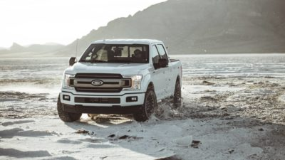 Ford Rapror F-150 SUV & Offroad on a desert