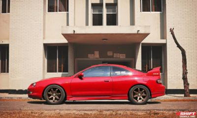 Toyota Celica ST203 coupe side view