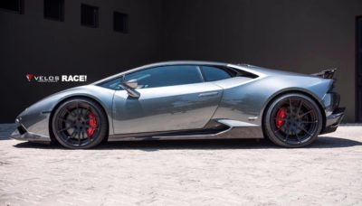Lamborghini Huracan side view