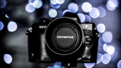 Olympus E-M10 mk II, Camera, Xmas lights