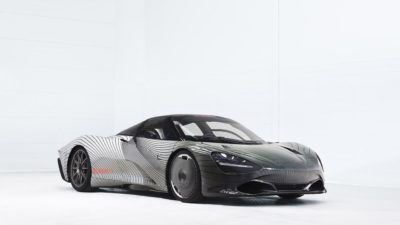 2018 McLaren Speedtrail, Prototype Albert, Sports car