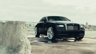Rolls Royce CRS15, Black, Luxury car