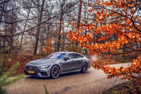 Mercedes AMG GT63 S in dark grey colour