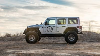 Wrangler Rubicon JLU side view