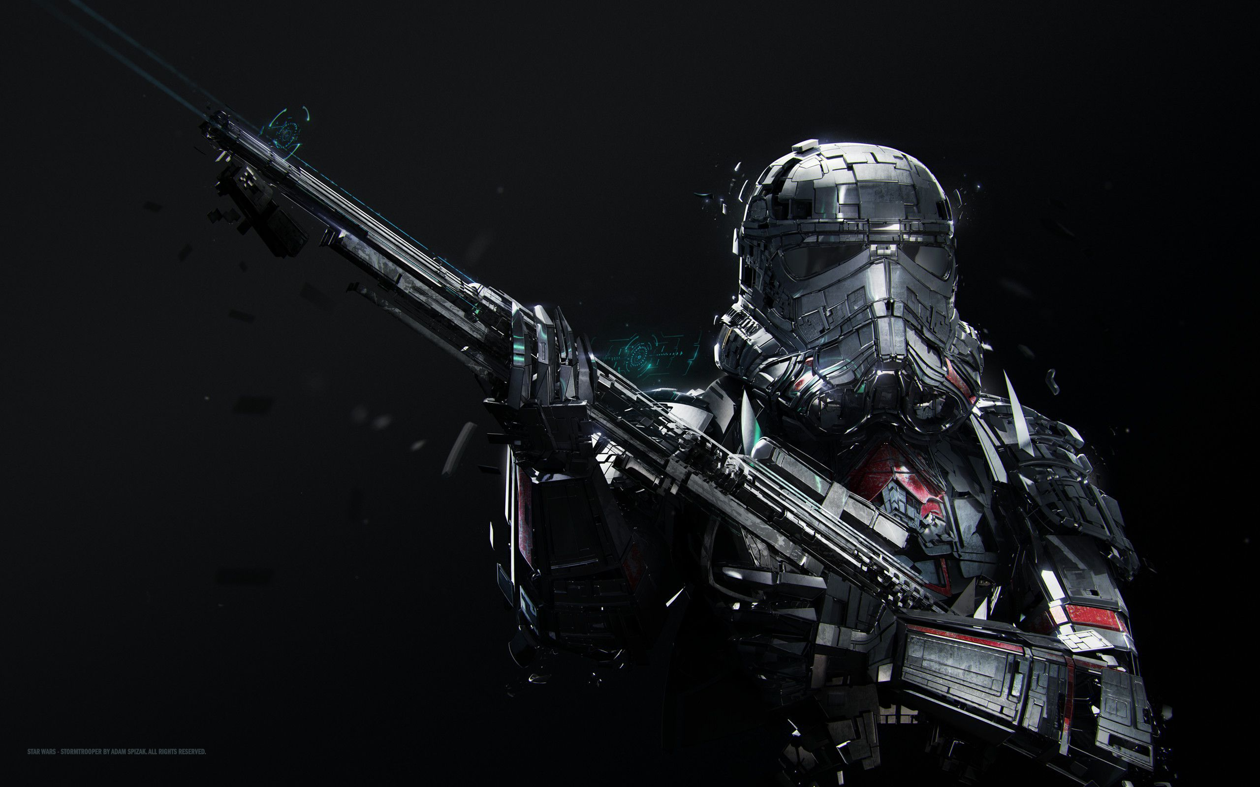 amazing Stormtrooper with a gun