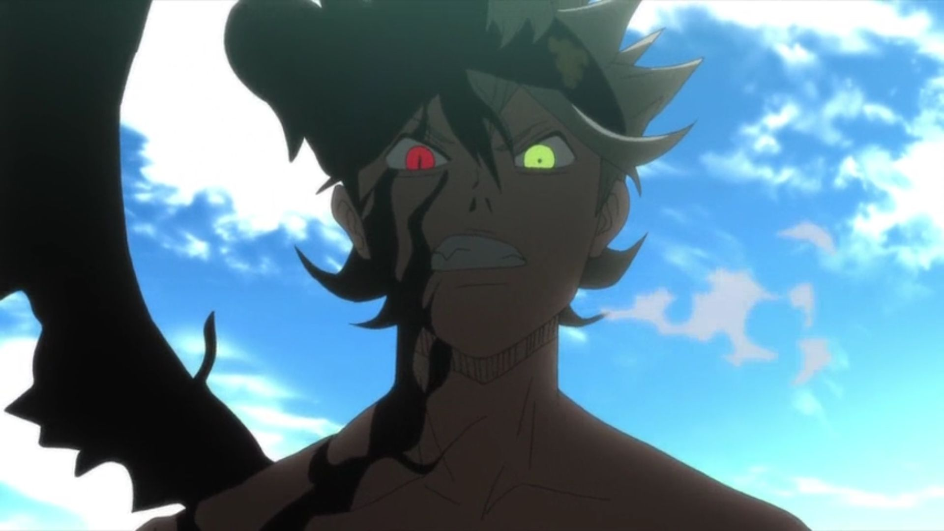 Black Clover Asta demon form eyes