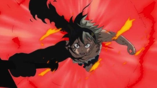 Asta Demon Form Black Clover Manga