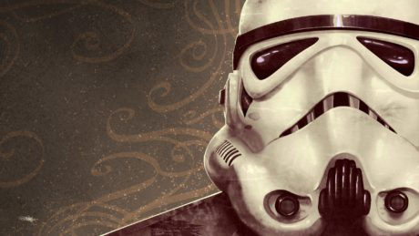 Mask of Stormtrooper