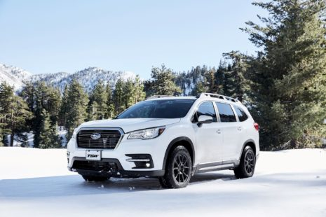 Subaru Ascent 2019 - white, front view