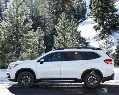 Subaru Ascent 2019 - white, side view