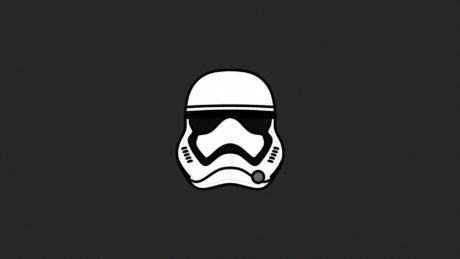 Vector mask Stormtrooper