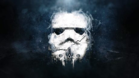 art mask Stormtrooper