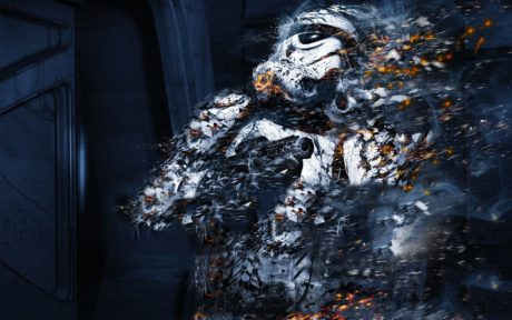 Art Splash Stormtrooper