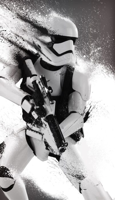 Mobile phones theme Stormtrooper