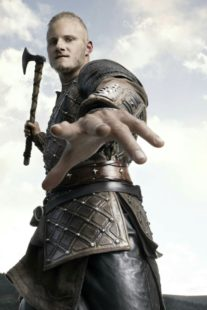 Alexander Ludwig - Bjorn Ironside with axe