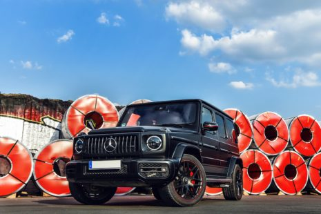 2019 Mercedes-Benz AMG G63 - black