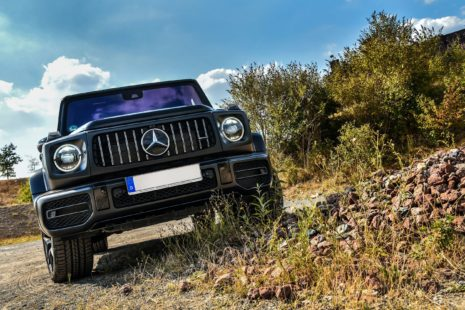 2019 Mercedes-Benz AMG G63 - black, offroad