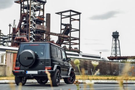 2019 Mercedes-Benz AMG G63 - black, rear