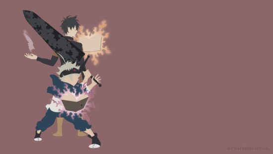 Asta with Yuno