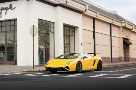 Lamborghini Gallardo Yellow Speed Monster