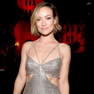 Olivia Wilde in beautiful dress 2018