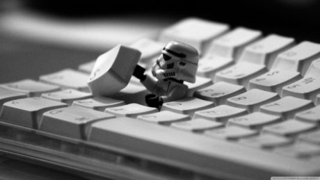 Stormtrooper keyboard lego