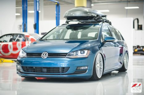 VW Golf SportWagen - lowered