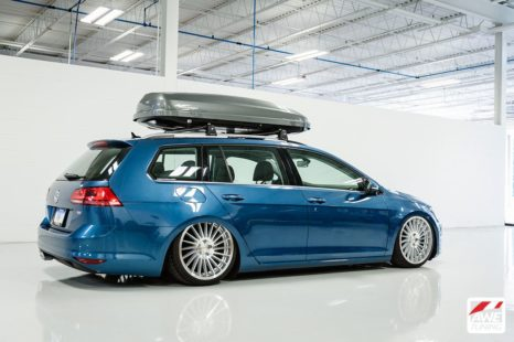 VW Golf SportWagen - lowered, tuning