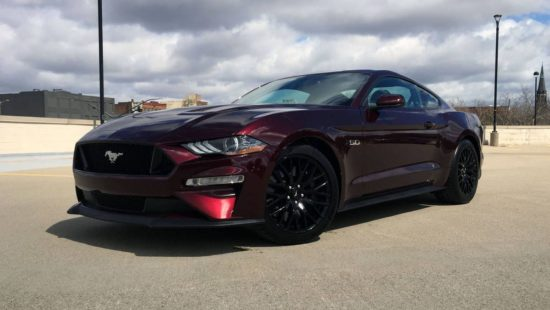 Black 2018 Ford Mustang GT